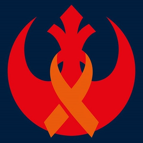 Early Expanded Universe Movement Logo based on the Rebel symbol